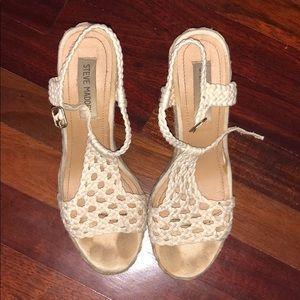 Steve Madden Shoes - Steve Madden Crochet Wedges